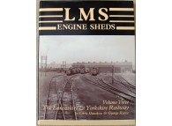 LMS Engine Sheds Volume 3 The Lancashire and Yorkshire Railway (Hawkins)