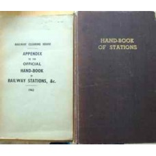 Handbook of Stations 1956 and Appendix 1962 (British Transport Commission)