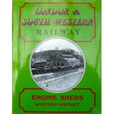 London & South Western Railway Engine Sheds Western District. (Hawkins)