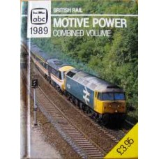 abc British Rail Motive Power Combined Volume 1989.
