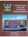 Canadian National Color Guide to Freight and Passenger Equipment Volume 2 (Riddell)