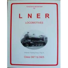Yeadon's Register of LNER locomotives Vol. 24A (Yeadon)