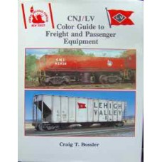 CNJ/LV Color Guide to Freight and Passenger Equipment (Bossler)