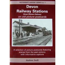 Devon Railway Stations on Old Picture Postcards (Swift)