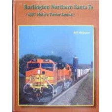 Burlington North Santa Fe 1997 Motive Power Annual (Shippen)