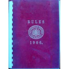 Caledonian Railway Company Rules 1906 (Copy)