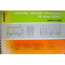 Historic Wagon Drawings In 4mm Scale (Roche)