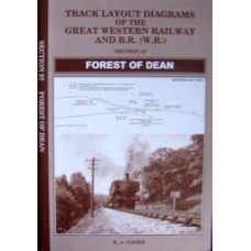 Track Layout Diagrams Of The Great Western Railway and BR (WR) Section 37 Forest of Dean (Cooke)