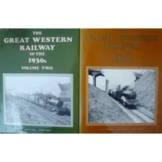 The Great Western Railway In The 1930s Volumes 1 & 2 (Geen)