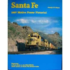 Santa Fe 1987 Motive Power Pictorial (Shine)
