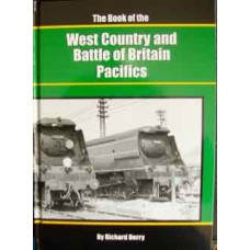 The Book of the West Country and Battle of Britain Pacifics (Derry)