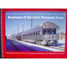 Santa Fe Railway Passenger Car Reference Series Volume Four-Business & Special Purpose Cars (Ellington)