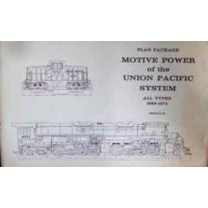 Plan Package: Motive Power of the Union Pacific System. All Types 1869-1974 (Kratville)