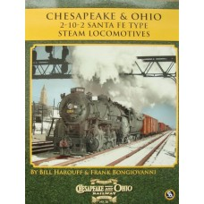 Chesapeake & Ohio 2-10-2 Santa Fe Type Steam Locomotives (Harouff) (HS26)
