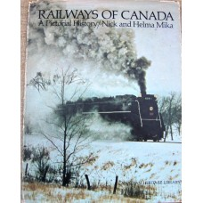 Railways of Canada A Pictorial History (Mika)