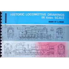 Historic Locomotive Drawings In 4mm Scale (Roche)